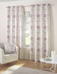 lilac baby curtains