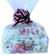 10 clear cello cellophane bags large gift basket bag 20x25 inch walmart