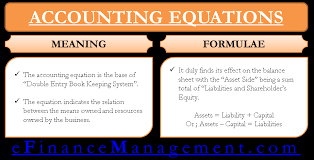 elements of the fundamental accounting equation