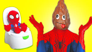 spiderman pink spidergirl vs spiderbaby s poo farts potty spiderman pink spidergirl vs spiderbaby s poo farts potty training superheroes in real life