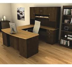 u shaped office desks for sale. Brilliant Office Manhattan Collection Ushaped Workstation With Hutch Included U2013  OfficeDeskcom Used Office FurnitureBusiness  Intended U Shaped Desks For Sale D