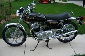 1974 norton 850 commando bike urious