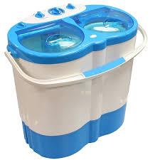 Travel Washing Machine Twin Tub Portable Washing Machine Spin Dryer Camping Caravan