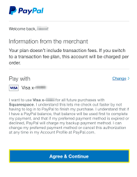 – Paypal Squarespace Help Accepting