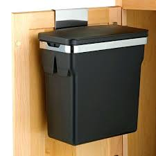 under counter trash can with lid in cabinet trash can garbage bin under counter bins under