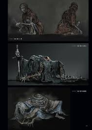 dark souls 3 concept art enemy concept art