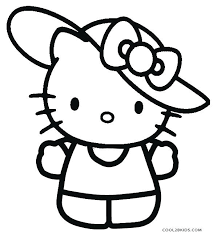 Printable Hello Kitty Coloring Pages Zupa Miljevcicom
