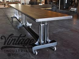 vintage industrial furniture tables design. plain tables custom post industrial conference table by vintage industrial llc   custommadecom throughout furniture tables design