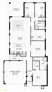 house plans for narrow city lots best of single story house plans australia modern style house