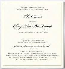 cosmological cabbage september 2012 Ghetto Wedding Invitations a priceless wedding invitation Worst Wedding Invitations