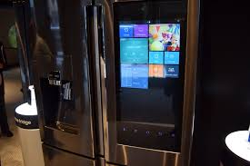 High End Fridges Samsung Family Hub Refrigerator Hands On Digital Trends
