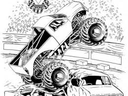 Small Picture Grave digger coloring page grave digger monster jam truck coloring
