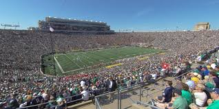 Notre Dame Stadium Section 113 Rateyourseats Com