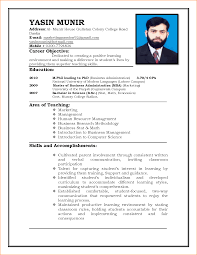 Resume For Job Application Format Of A Resume For Job Application Cv Format For Job Application 23