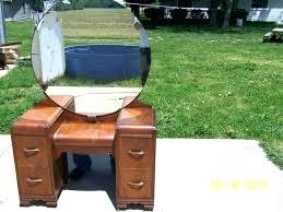 vintage vanity dresser with round mirror antique dressing table house old vanit vintage vanity dresser with round mirror
