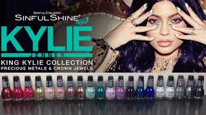 king kylie collection by sinfulcolors professional nailpolishpursuit