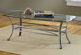Coffee Table Top Glass Occasional Group Contemporary Metal Coffee Table With Glass Table
