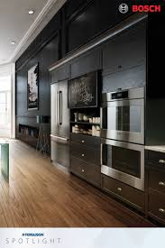 Double Oven Kitchen Design Boschhomeus Wall Ovens Are Designed For Flush Installation Which