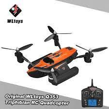 Ban Đầu WLtoys Q353 Triphibian 2.4G 6 Trục Con Quay Hồi Chuyển Không Khí  Mặt Đất Nước RC Của Chế Độ Không Đầu RTF máy Bay Không Người Lái Chuyên  Nghiệp Trực