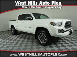 Certified Pre-Owned 2016 Toyota Tacoma LMT 4 Door Cab; Double Cab ...
