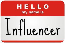 Resultado de imagen de influencer