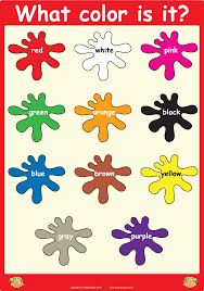 Pin By Lapetiteacademy On Wall Posters Learning Colors For