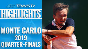 Medvedev Stuns Djokovic; Nadal Reaches 14th Semi-Final | Monte-Carlo 2019  Quarter-Final Highlights - YouTube