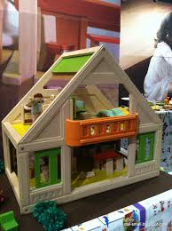 2013 New York International Gift Fair And Toy Fair By Chris. Eco-Babyz: Plan  Toys Chalet Dollhouse Review
