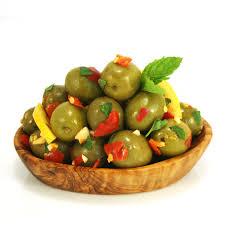 Olive Oak Size Chart Olives Dressed With Chilli Lemon Mint