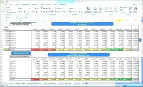 Sales Forecast Excel Template Shionethompsonyoga Club