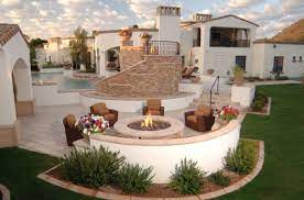 Beautiful Inspiring Outdoor Firepits