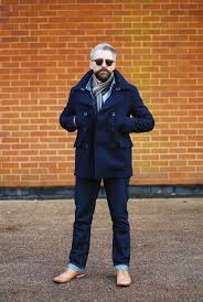 i m sure most men love the look of a peacoat denim jacket and brogues there s something so cool about it that we all aspire to the likes of steve mcqueen