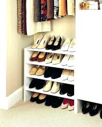 shoe organizer for small space shoe closet ideas for small spaces shoe organizer for small space