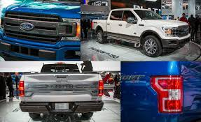 2018 ford grill. beautiful 2018 ford thinks big when it comes to the f150 pickup both in terms of its  sheer size and sales numbers to find changes made refreshed 2018  intended ford grill e