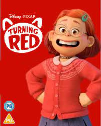 Disney Pixar Turning Red Blu ray ...