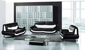 20 Modern Leather Living Room Furniture