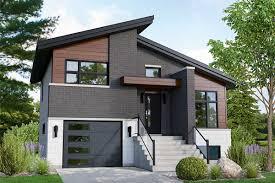 Small House Design Light Materials Plan 80915pm Modern 2 Bed Split Level Home Plan Small