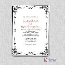 Party Borders For Invitations Princess Style Wedding Invitations Retro Border Invitation