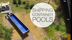Used Shipping Containers For Sale Prices Shipping Container Pools Youtube