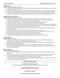 Directors Resume Sales Director Lewesmr