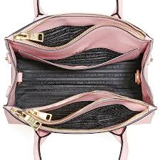 prada galleria saffiano leather handbag petalo