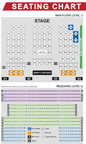 Seating Chart Admiral Theatre