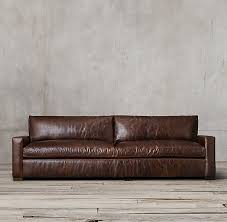 restoration hardware leather couch. Leather Sofa Pertaining To Restoration Hardware Ideas 11 Couch T
