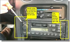 remove and replace mazda miata radio pictures chuckegg com 94 miata radio wiring diagram at 1999 Miata Radio Wiring