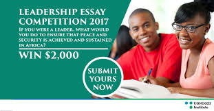 leadership essay competition for african citizens at uongozi leadership essay competition for african citizens at uongozi institute in south africa