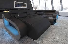 Sofa Dreams Leder Wohnlandschaft München U Form Mit Usb