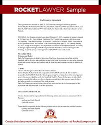 Rental Agreement Between Tenants Landlord Tenant Lease Agreement ...