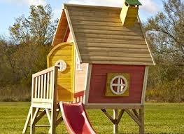 Kids Clubhouse N Slide Hide Playhouse S With Innovation Ideas