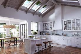 Bright Kitchen Natural Light From Skylights For A Bright Happy Kitchen