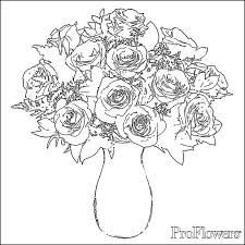 Small Picture Rose Coloring Pages for Kids ProFlowers Blog